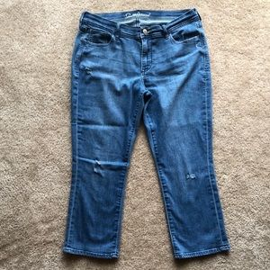 Like New! Denim Capris, size 10